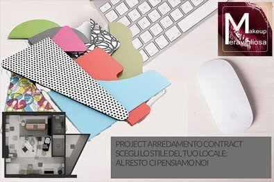 project arredamento contract-home page